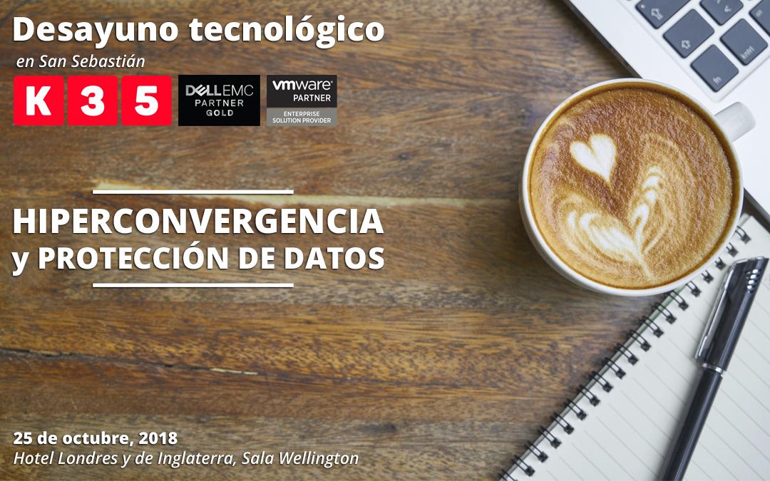 K35 y DELL Technologies organizan un desayuno tecnológico en San Sebastián