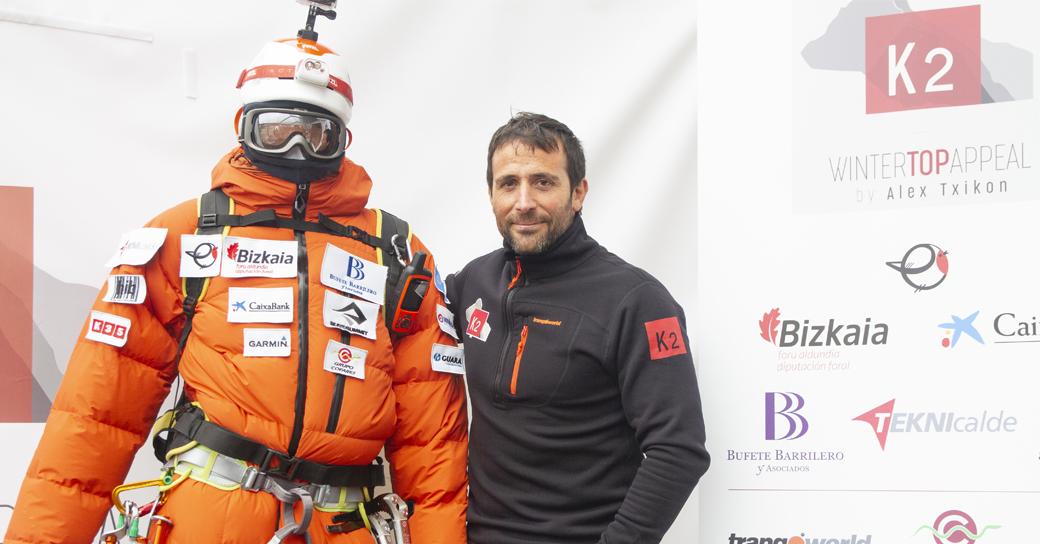 El alpinista Alex Txikon pretende escalar el K2 en invierno y ser el primero en lograrlo