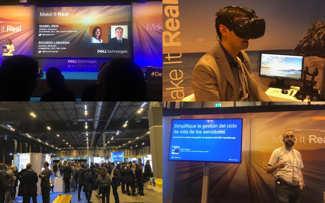 K35 presente en el evento de  Dell Technologies Forum 2018