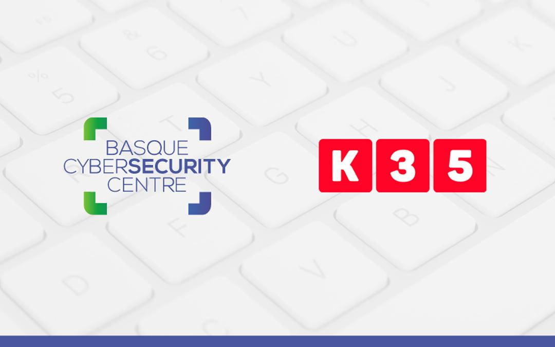 K35, incluida en el catálogo de empresas de ciberseguridad del Basque Cybersecurity Centre