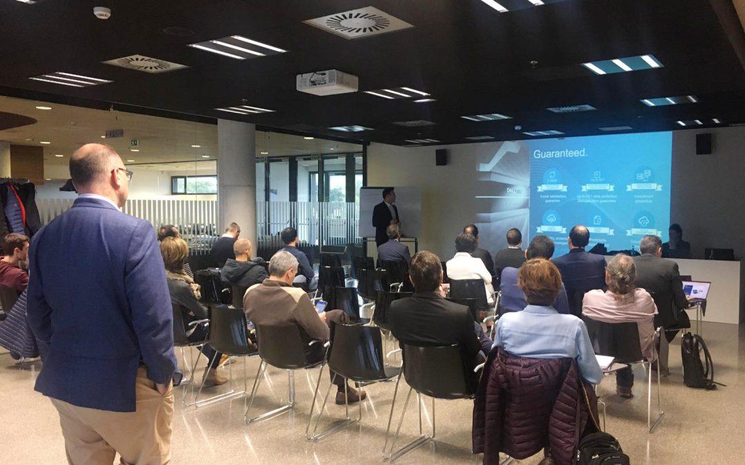 Éxito en la sesión tecnológica organizada por K35 y Dell Technologies sobre la protección de datos