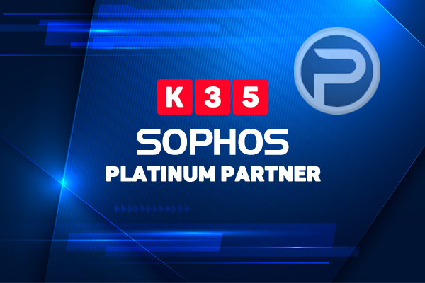K35 alcanza la certificación de Platinum Partners de Sophos