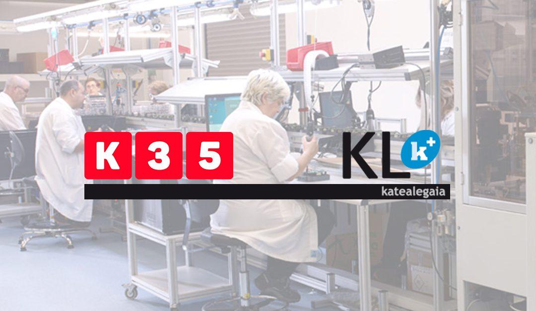 KL Katea Legaia. Asegurando la continuidad de negocio con K35