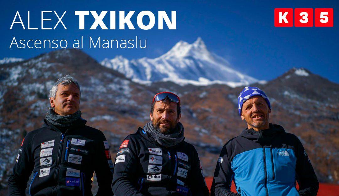Alex Txikon asciende el Manaslu en una expedición íntegramente invernal