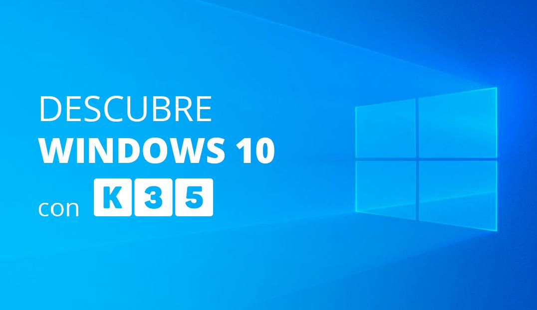 Descubre Windows 10